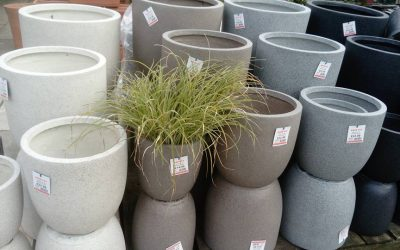 NEW! Granito pots by Apta